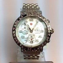 Michele Diamond Chronograph Ladies Watch W/ Diamonds &...