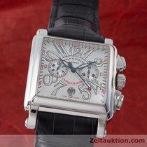 Franck Muller Conquistador Cortez Chronograph Platin Rotor...