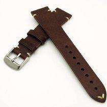 勞力士 (Rolex) New 20mm Calfskin Leather Strap Replacement Band...