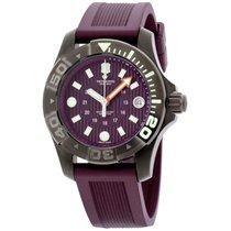 Victorinox Swiss Army Victorinox  Dive Master Purple Dial...