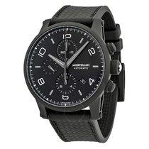 Montblanc Timewalker Extreme Chronograph Black Dial Black...