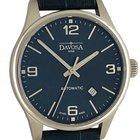 Davosa Gentleman Stahl Automatik Armband Leder 40mm