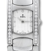 Ebel Beluga Manchette White Dial Stainless Steel Ladies Quartz...