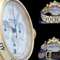Cartier Pasha Chronograph Automatic Datum 18kt Gelbgold mit...
