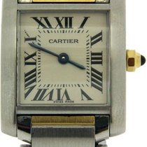Cartier Ladies Tank Francaise 18ct Yellow Gold & Stainless...