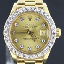 Rolex Datejust Yellow Gold 26MM With Diamonds-Box