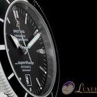 Breitling Superocean Heritage 46 mm Schwarz | Milanaise Armband