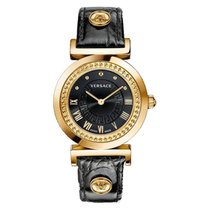 Versace Women's P5Q80D009 S009 VANITY Rose Gold Ion-Plated...