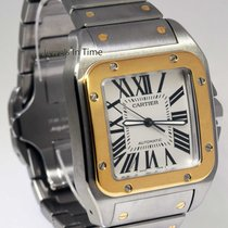 Cartier Santos 100 XL 18k Yellow Gold/Steel Automatic Mens...
