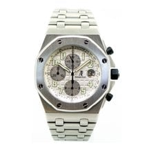 Audemars Piguet Royal Oak Offshore  White Dial 25721ST.OO.1000...