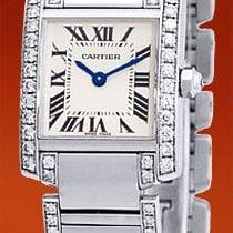 "Cartier Diamond ""Tank Francaise""."