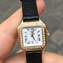 Prince Oro Gold 18 Lady donna 26 mm quarzo diamanti diamonds