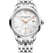 Baume & Mercier Clifton Small Seconds 41mm Automatic in Steel
