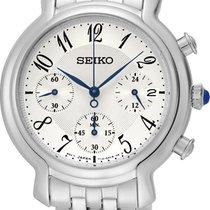 Seiko Chronograph SRW875P1 Damenchronograph Klassisch schlicht