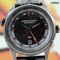 Hamilton Jazzmaster GMT Auto Steel PVD Black Mens Watch...