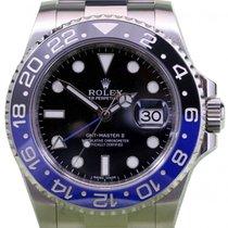 Rolex GMT-Master II 116710BLNR Blue Black Ceramic Batman 40mm...