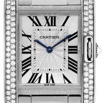 Cartier- Tank Anglaise Mittlers Modell, Ref.  WT100028
