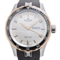 Edox Grand Ocean Chronograph Day Date Watch 88002-357RCA AIR