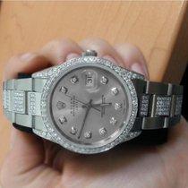 Rolex Exclusive Diamond Rolex 15200 34mm Stainless Steel Watch...