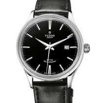 Tudor Style 41mm  Leather Strap