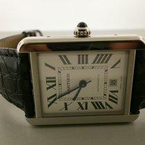 Cartier Tank Solo W5200027 S/s Xl Auto Strap Watch