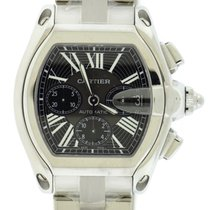 Cartier Roadster XL Chronograph Stainless Steel