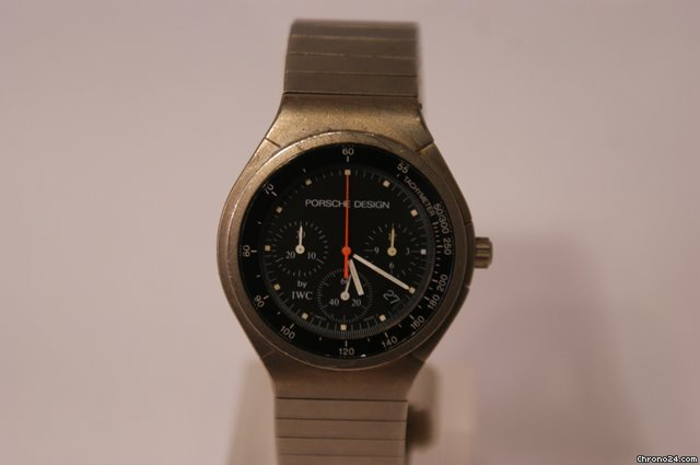 IWC Porsche design Titan Chronograph