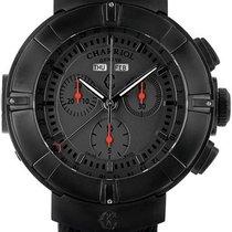 Charriol Celtica Black Dial Chronograph Men's Watch