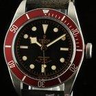 Tudor New Heritage Black Bay 79220r Automatic Black Leather...