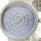 Dior La D De Dior Diamond Blue Mop Dial Ladies Watch Cd043112...