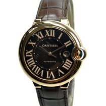 Cartier Ballon Bleu 18k Rose Gold Bround Automatic W6920037