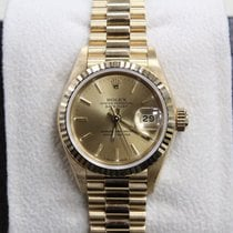 Rolex Ladies President Unworn 18K Yellow Gold New From Old Stock