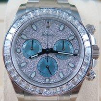 Rolex DAYTONA PLATINUM-BAGUETTE DIAMOND BEZEL-PAVE DIAMOND DIAL