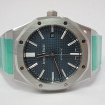 Audemars Piguet Blue Dial 41mm Royal Oak Boutique  Box &...