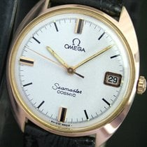 Omega Seamaster Cosmic Winding Quick Date Roll Gold Unisex Watch
