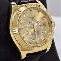 Rolex Sky-dweller Perpetual 326138 18k Yellow Gold Watch 2016...
