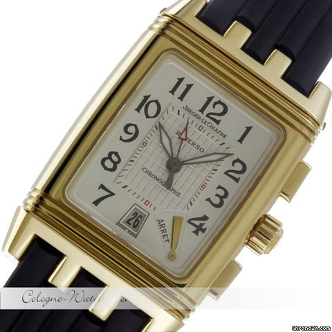 Jaeger-LeCoultre Reverso Grand Sport Chronograph Gelbgold Q2951620