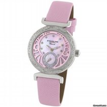 Stuhrling 504.1215A9 Soiree Mother of Pearl Diamond Pink...