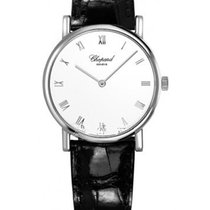 Chopard 163154-1001 Classique Homme - White Gold on Strap with...