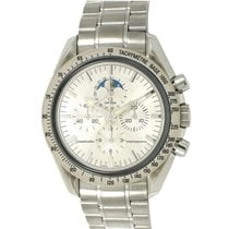 Omega 3575.30 Speedmaster Pro Moonphase - On Stainless Steel...