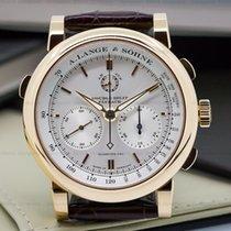A. Lange & Söhne 404.032 Double Split Silver Dial Rose...