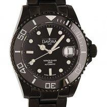 Davosa Ternos Diver Stahl Black PVD Automatik 40mm