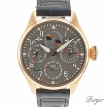 IWC Big Pilot Perpetual Calendar Rose Gold Limited Edition Brazil