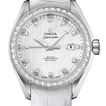 Omega Seamaster Aqua Terra Diamonds