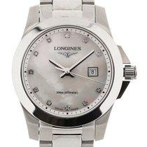Longines Conquest 29.5 MoP Diamonds