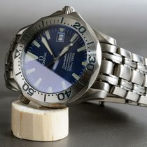 Omega Seamaster Professional 300 Electric Blue Wave Dial [on...