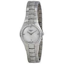 Tissot Ladies T0960096111600 T-Round Bezel Diamonds