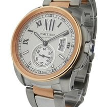 Cartier W7100036 Calibre de Cartier Automatic Two Tone - Steel...
