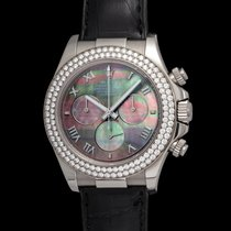 Rolex Daytona 116589rb In White Gold With Mother Of Pearl Dial