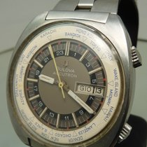 Bulova Accutron World Time Super Compressor Diver vintage...